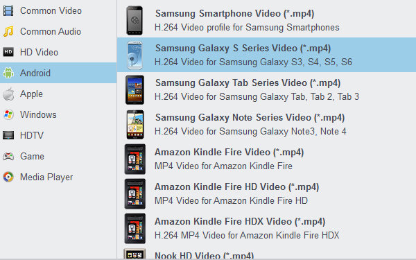 Convert iTunes movies to Galaxy S7 Video Format