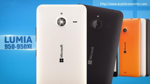 Blu-ray to Lumia 950/950 XL formats