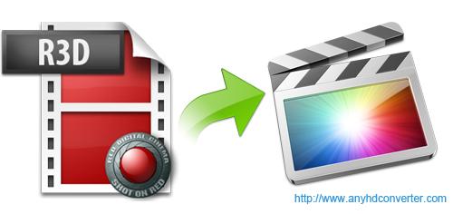 Edit R3D video in FCP