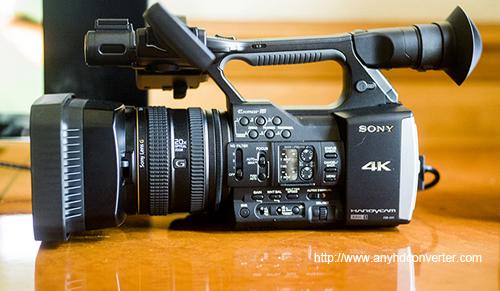 Sony FDR-AX1 FCP X