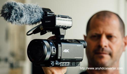 Import Sony FDR-AX100 4K XAVC S MP4 to FCP X