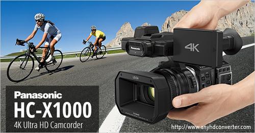 Panasonic HC-X1000 FCP X