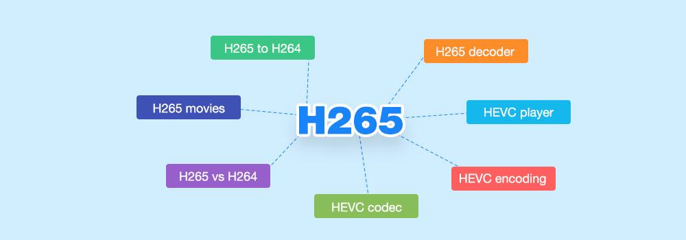H.265 Video Converter - Convert H.265 to H.264/ProRes/DNxHD