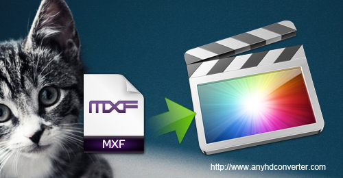 MXF to FCP, Edit MXF in FCP