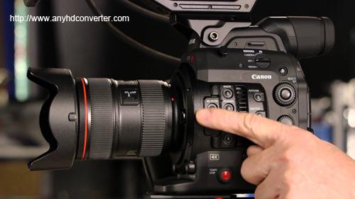 Canon EOS C300 Mark II FCP X