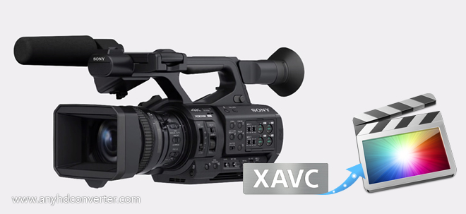 Convert Sony PXW-Z280 XAVC to FCP X ProRes codec