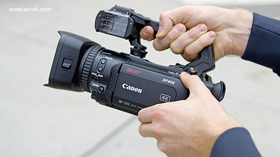 Import and edit CanonXF405 4K MP4 in FCP X