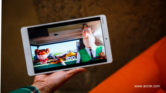 Play Blu-ray movies on MediaPad M3 without any problem