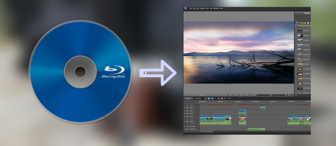Convert Blu-ray to Premiere Elements supported format