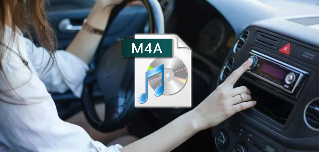 How to play iTunes M4A music in my car via car stereo