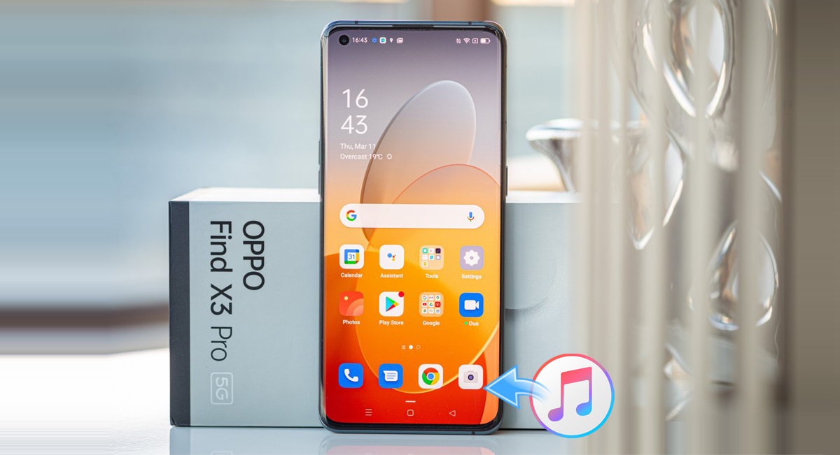 Oppo Find X3 Pro iTunes - Play iTunes music and movies on Oppo Find X3 Pro