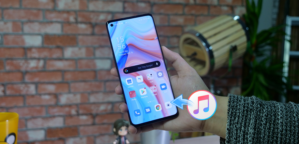 Play iTunes movies and music on Oppo Reno 5 Pro